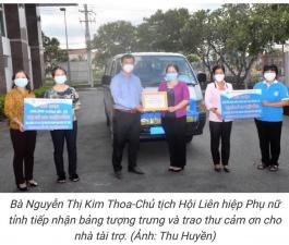 Xuân Nguyên Trao tặng quà hỗ trợ tổng trị giá 2 tỷ 350 triệu đồng