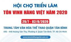 Có gì hấp dẫn tại hội chợ triễn lãm Tôn vinh hàng Việt năm 2020?