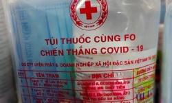 30/8/21, 2500 túi thuốc dành cho F0  đã tập kết tại Tập đoàn Xuân Nguyên