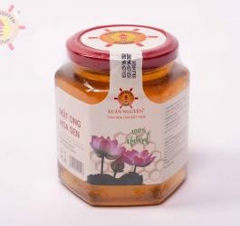 Mật ong hoa sen Xuân Nguyên 504g